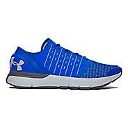 Mens Under Armour Speedform Europa Running Shoe - Blue/Grey 7.5