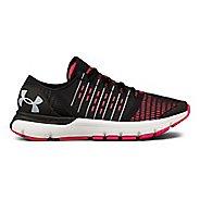 Womens Under Armour Speedform Europa Running Shoe - Black/Pink 5.5