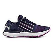 Womens Under Armour Speedform Europa Running Shoe - Midnight Navy/Purple 10