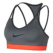 Womens Nike Pro Indy Cooling Sports Bra - Heather Grey XS