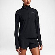 Womens Nike Dry Element Half-Zips & Hoodies Technical Tops - Black S
