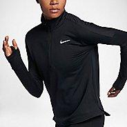 Womens Nike Therma Sphere Element Half-Zips & Hoodies Technical Tops - Black M