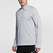 Mens Nike Therma Sphere Element Half-Zips & Hoodies Technical Tops - Wolf Grey M