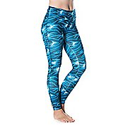 Womens Skirt Sports Go the Distance Tight Tights & Leggings Pants - Stargaze Print XS