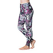 Womens Skirt Sports Go the Distance Tight Tights & Leggings Pants - Enchanted Print XS