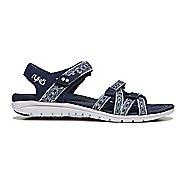 Womens Ryka Savannah Sandals Shoe - Black/Grey 10.5