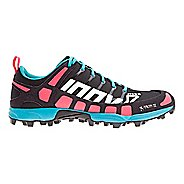 Womens Inov-8 X-Talon 212 (P) Trail Running Shoe - Black/Pink/Teal 10.5