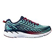 Womens Hoka One One Clifton 4 Running Shoe - Aquifer/Indigo 10.5