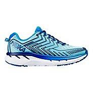 Womens Hoka One One Clifton 4 Running Shoe - Grey/Pink 10.5