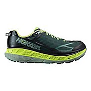 Mens Hoka One One Stinson ATR 4 Trail Running Shoe - Nine Iron/Silver 9