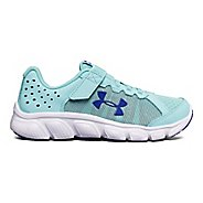 Kids Under Armour Assert 6 AC Running Shoe - Blue/White 11C
