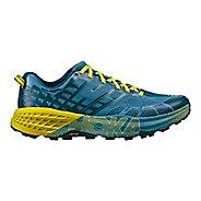 Mens Hoka One One Speedgoat 2 Trail Running Shoe - Midnight/Niagara 9