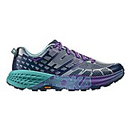 Womens Hoka One One Speedgoat 2 Trail Running Shoe - Tradewinds/Indigo 6