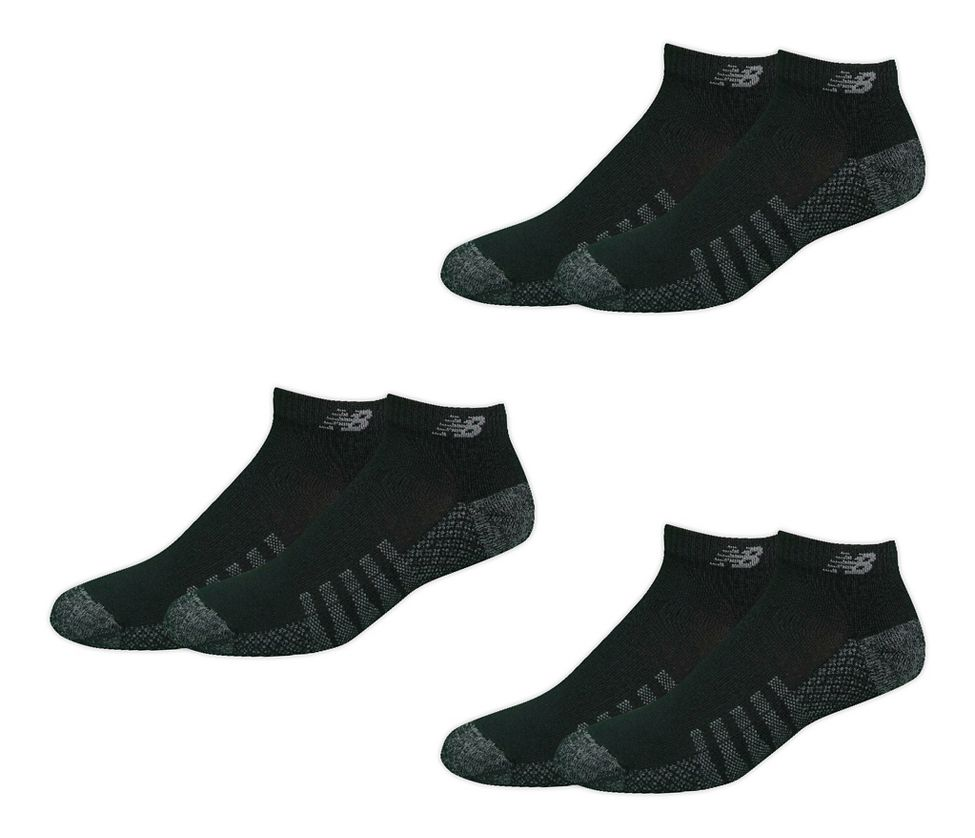1014c8cd2892e New Balance Technical Elite Coolmax Low Cut 6 Pack Socks at Road Runner  Sports