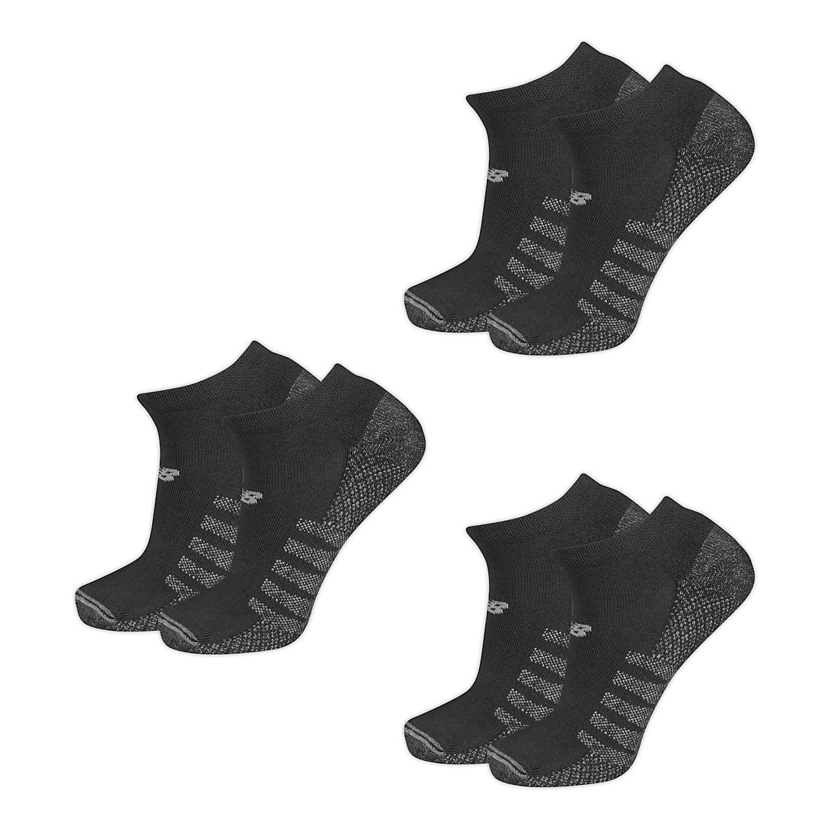 02046100eaaa1 New Balance Technical Elite Coolmax No Show 6 Pack Socks at Road Runner  Sports