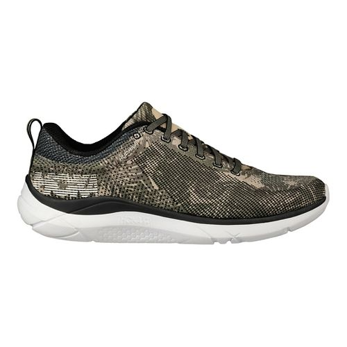 Mens Hoka One One Hupana Running Shoe | Grey/green Hoka One One Running Shoes From Road Runner Sports