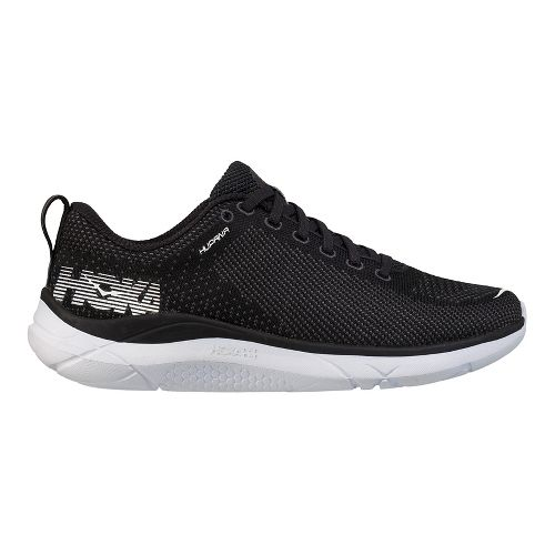 Womens Hoka One One Hupana Running Shoe | Black/white Hoka One One Running Shoes From Road Runner Sports