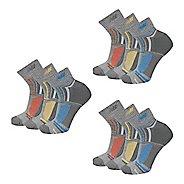 New Balance Performance Ankle 9 Pack Socks - Grey L