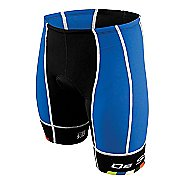 Mens De Soto Forza Tri Cycling Shorts - Royal/Black M