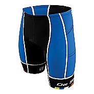 Mens De Soto Forza Tri 4-Pockets Cycling Shorts - Royal/Black XL