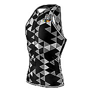 Mens De Soto Liftfoil3 Swim Skin Sleeveless & Tank Technical Tops - Black Hive L