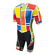 Mens De Soto Riviera FliSuit With Sleeves Triathlon UniSuits