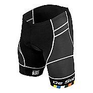 Mens De Soto Riviera Tri Short Cycling Shorts - Black L