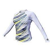 Womens De Soto Skin Cooler Long Sleeve Technical Tops - Color Block S