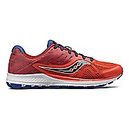 Mens Saucony Ride 10 Running Shoe - Orange/Navy 9
