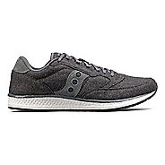 Womens Saucony Freedom Runner Wool Casual Shoe - Charcoal 5