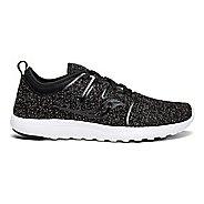 Womens Saucony Eros Lace Casual Shoe - Black/White 8