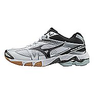 Womens Mizuno Wave Bolt 6 Court Shoe - White/Black 9.5