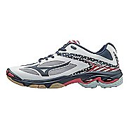 Womens Mizuno Wave Lightning Z3 Court Shoe - Stars/Stripes 11