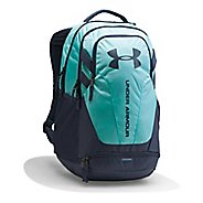 Under Armour Hustle 3.0 Backpack Bags - Turquoise/Grey