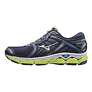 Mens Mizuno Wave Sky Running Shoe - Black/Red 7