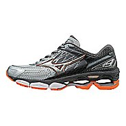 Mens Mizuno Wave Creation 19 Running Shoe - Silver/Diamond 12.5