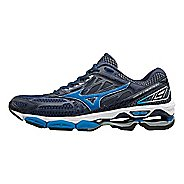 Mens Mizuno Wave Creation 19 Running Shoe - Black/Navy 9.5