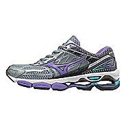 Womens Mizuno Wave Creation 19 Running Shoe - Black/Purple 9