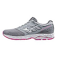 Womens Mizuno Wave Shadow Running Shoe - Light Grey/White 6.5