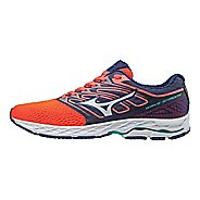 Womens Mizuno Wave Shadow Running Shoe - Fiery Coral/White 8.5
