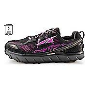 Womens Altra Lone Peak 3.5 Trail Running Shoe - Black/Purple 5.5