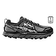 Womens Altra Lone Peak 3.5 Trail Running Shoe - Black/Purple 6.5