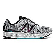 Womens New Balance Fresh Foam Vongo v2 Running Shoe - White/Black 10