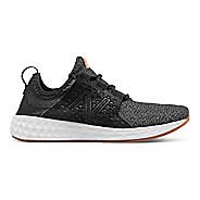 Womens New Balance Fresh Foam Cruz v1 Omni Running Shoe - Black/White 5.5