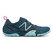 Womens New Balance 10v1 Trail Running Shoe - Grey/Blue 6