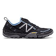 Womens New Balance 10v1 Trail Running Shoe - Black/Blue 5