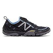 Womens New Balance 10v1 Trail Running Shoe - Black/Blue 7.5