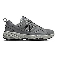 Womens New Balance 626v2 Walking Shoe - Grey/Blue 6.5