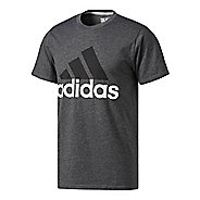 Mens Adidas Badge of Sport Classic Tee Short Sleeve Technical Tops