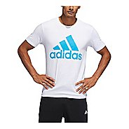 Mens Adidas Badge Of Sport Classic T-Shirt Short Sleeve Technical Tops